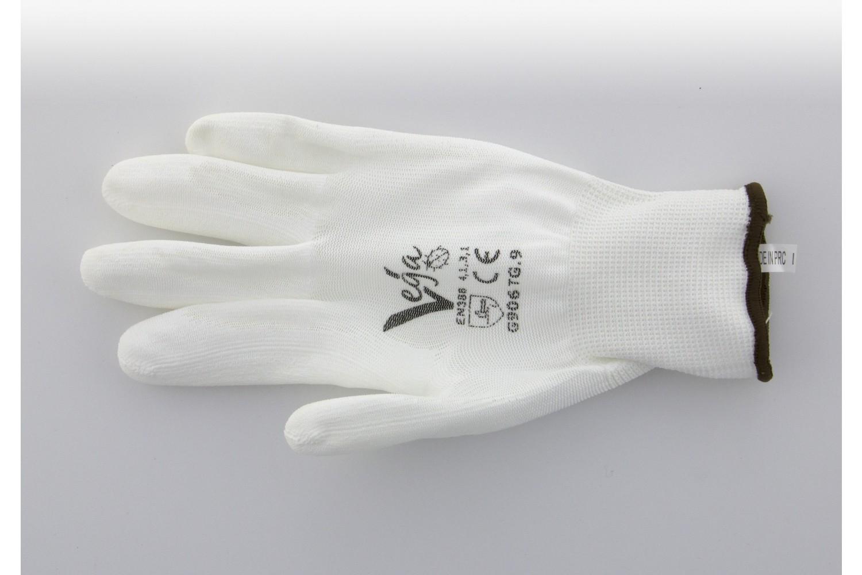 VEGA work gloves white